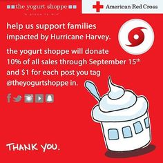 froyo for a cause! #yogurtshoppe