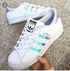 Superstar Adidas White And Rose Gold