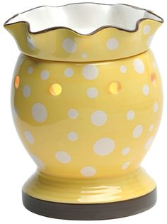 How cute is this scentsy warmer!!! This warmer is named Dotty  I am a consultant if you would love to have this in your home let me know!