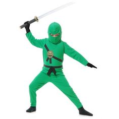 C - Green+Ninja+Kids+Costume