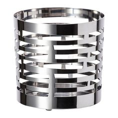 IKEA Vackert Slat Metal Tea or Votive Candleholder  31 x 31 Chrome 00281279 * Visit the image link more details. Note:It is affiliate link to Amazon.