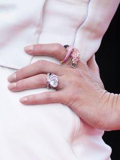 Gwen Stefani's heart-shaped diamond