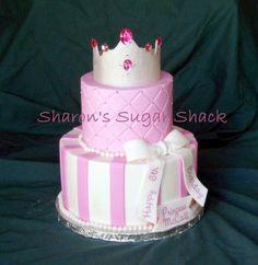 ~ Sugar Teachers ~ Cake Decorating and Sugar Art Tutorials: How to Make a SugarPaste Princess Crown--- by Sharon Zambito