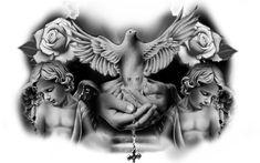Chest Tattoo Birds, Chest Tattoo Drawings, Cool Chest Tattoos, Chest Tattoos For Women, Chest Piece Tattoos, Pieces Tattoo, Tattoo Design Drawings, Best Sleeve Tattoos, Head Tattoos