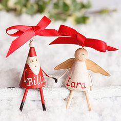 Personalised Mini Christmas Decoration
