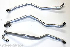 cool BMW OEM E32 HEATER CORE METAL TRIPLE PIPES HOSES X3 HEAT ALUMINIUM 750 750IL - For Sale
