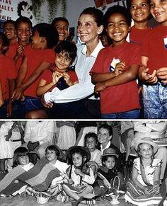 Venezuela, 1988. Top: Copyright © UNICEF / Victoria Brynner. Bottom: Copyright © UNICEF/HQ88-0019 / Victoria Brynner.