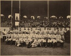 First World Series 1903 Boston Americans and Pittsburgh Pirates, Huntington Avenue Grounds, 1903 World Series Boston Baseball, Baseball First, Boston Sports, Boston Red Sox, Baseball Caps, Baseball Players, 1903 World Series, First World Series, Mlb World Series