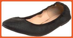 Wanted Shoes Women's Lario Ballet Flat, Black, 10 M US - Athletic shoes for women (*Amazon Partner-Link)