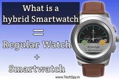 Do you know what is a hybrid smartwatch? Which is better for you? Hybrid smartwatch or smartwatch? Let's know What is the difference between a smartwatch and a hybrid smartwatch? Watch 24, Wear Watch, Smartwatch Features, Apple Watch 3, Do You Know What, Watch Faces, Good Things
