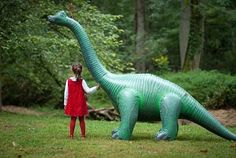 blow up Dinosaur for Birthday Party