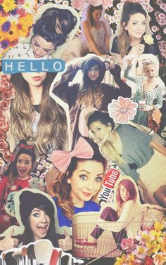Zoella collage ♥ she looks beautiful ! and lovely
