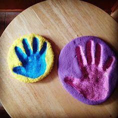 Salt Dough Keepsakes - Christmas idea for grandparents?