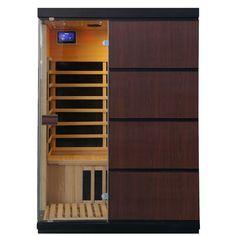 Buy Sirona Hemlock 3 Person FAR Infrared Sauna Radiant Saunas Contemporary Design, Modern Design, Chromotherapy, Infrared Sauna, Cabin Design, Interior Lighting, Engineered Wood, Tall Cabinet Storage, Home Goods