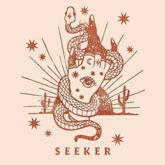Seeker gypsy hand with tattoos and snake unicolo tattoo drawing design Illustration Art Inspo, Geniale Tattoos, Arte Sketchbook, Art Et Illustration, Design Illustrations, Simple Illustration, Future Tattoos, Art Design, Logo Design