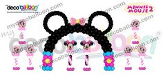 Balloon Decoration, My Deco Balloon Minnie Mouse Package Deals