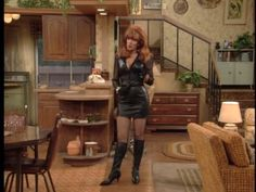 Katey Sagal in boots and leather photo MarriedWithChildren-Peggyinleath-33.jpg