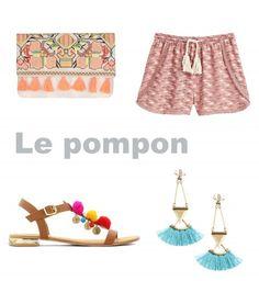 Le pompon, tendance mode printemps été 2016