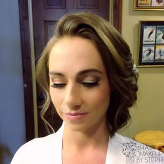Wedding/prom hair and makeup.