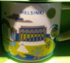 Helsinki, Finland | YOU ARE HERE SERIES | Starbucks City Mugs