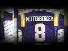 http://yfqc.cn for LSU Tigers #8 Zach Mettenberger  Jerseys with the player's number, name embroidered on center of back, chest and shoulders, Team Logo embroidered on sleeves. The price is really cheap and quality is very good.