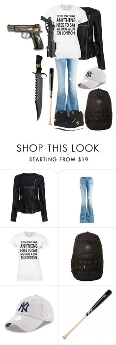 """""""Untitled #2056"""" by forever-ur-sickest-hoe ❤ liked on Polyvore featuring Marissa Webb, Sans Souci, Balmain, Rip Curl and Marucci"""