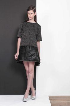 ARMANDO TAKEDA 2015-16AW LOOK08 #tops #miniskirt