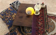 Miniature fortune teller's tent;  bohemian collectible; night light table top Light Table, A Table, Mandala Rug, Snail Shell, Boho Room, Family Crafts, Love Craft, Unique Lighting, Scatter Cushions