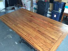 This is after 3 coats of varnish.  Used a Helmsman clear Satin finish.
