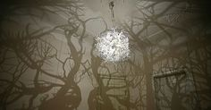 Chandelier That Turns Your Room Into A Forest |