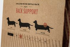 Frank's Dachshund Dog Collection — The Dieline - Package Design Resource