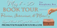 The author is offering a signed paperback book, and a Swarovski crystal bracelet that is part of her jewelry line for a tour prize.