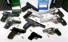 PN incauta 10 armas de fuego ilegales y apresa igual cantidad de personas