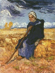 Vincent van Gogh. The Shepherdess, 1889