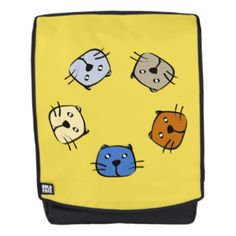 Five Cats Backpack