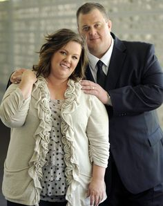 Mike Biggs & Molly Flynn | Mike & Molly (2010 - present)    #billygardell #melissamccarthy #couples