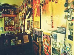 my little hippie bedroom :)