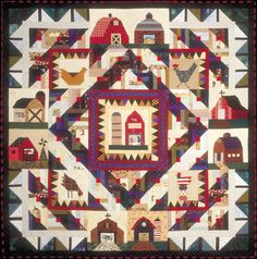 This Old Barn Quilt Pattern- Complete Set xox
