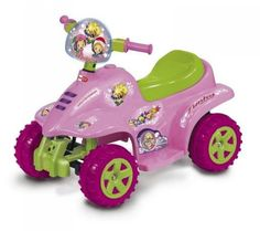 Mini quad rosa BIEMME GIOCHI in offerta a € 109,00. Motore velocità 4 km/h, batteria a secco 1 x 6 V, autonomia 1 ora. Caricabatteria da 6 Volts incluso. Acceleratore a freno unico pedale. Fusibile protezione motore. Puoi trovarlo su http://qpoint.eu/prodotto/mini-quad-rs-rosa/