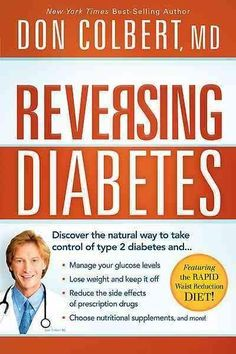 It is possible to manage and even reverse diabetes through natural means, and in Reversing Diabetes , Dr. Colbert shows you how. Most people view diabetes as a dead-end streetonce you receive a diabet