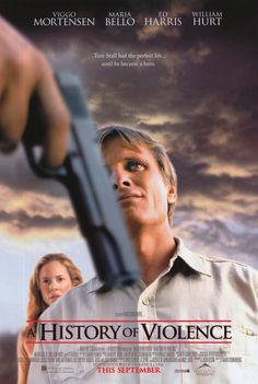 A History of Violence Viggo Mortensen, Maria Bello, William Hurt) A mild-mannered man becomes a local hero through an act of violence, which sets off repercussions that will shake his family to its very core. Dc Movies, Great Movies, Movies To Watch, Movies Online, Movies And Tv Shows, Hindi Movies, Movies Free, Cinema Movies, Popular Movies