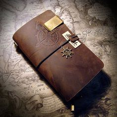 Handmade Leather notebook