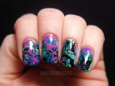 DIY Nail Art: Rodarte Fall 2012-Inspired Manicure (PHOTO)