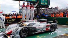 24-Stunden-Rennen Le Mans Gruppenbild