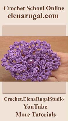 Crochet Flower Scarf, Crochet Flower Tutorial, Crochet Diy, Crochet Flower Patterns, Crochet Basics, Crochet Designs, Crochet Crafts, Crochet Projects, Irish Crochet Tutorial