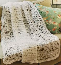 Spring/ Summer  Contemporary Cottage Afghans - Crochet Patterns