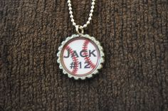 Baseball Mom Necklace- fund raiser for our mission trip! Baseball Jewelry, Baseball Necklace, Baseball Crafts, Softball Mom, Sports Baseball, Baseball Stuff, Softball Stuff, Volleyball, Basketball