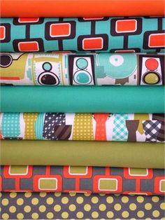 Quilting Fabric Fat Quarter Bundle 8 Total Fabric Shop