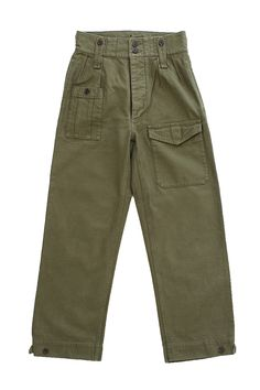 Nigel Cabourn for Women's - BRITISH ARMY PANT - OLIVE