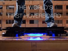 Hendo Hoverboards - World's first REAL hoverboard's video poster